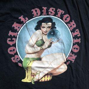 Tops - Social Distortion T-shirt